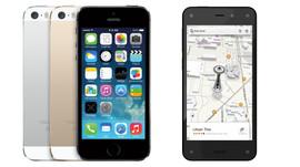 Amazonfirephonevsiphone5s
